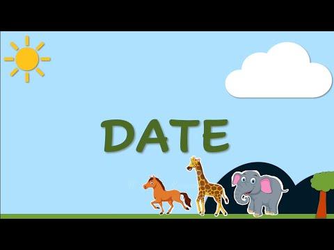 Penjelasan cara menulis dan membaca tanggal/Date. (DD-MM-YYYY) Semoga Video ini bermanfaat. Jangan L.