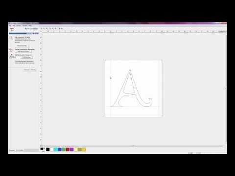 ArtCAM Express Font Creator Module