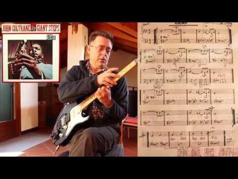 Naima - John Coltrane (guitar chord melody cover) - YouTube