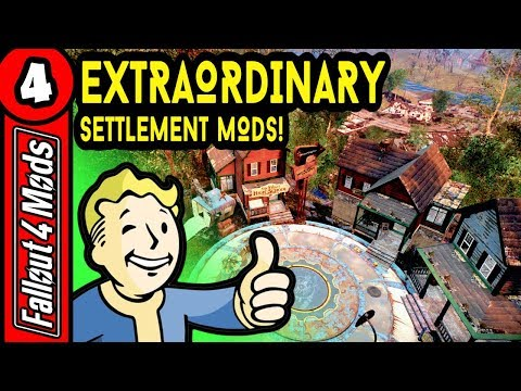 Best Settler & Settlement Construction Mods - Fallout 4 Best Mods 2018 – Part 4