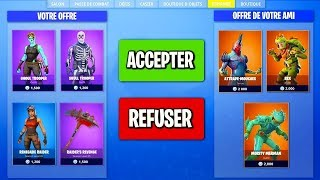 CHANGE OF SKINS WITH AMIS in ILLIMITÉ on FORTNITE Battle Royale!