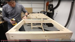 New Shop Build: Part 5 - How to build a workbench table