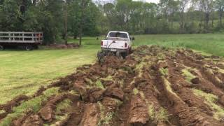 Plowing Field With a Pickup