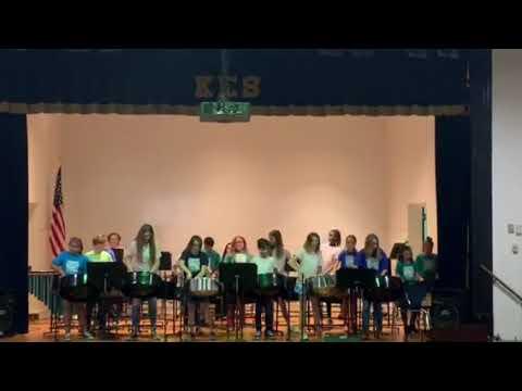 """KES Knightsville Elementary School Steel Band - """"Kashmir"""" - Led Zeppelin"""