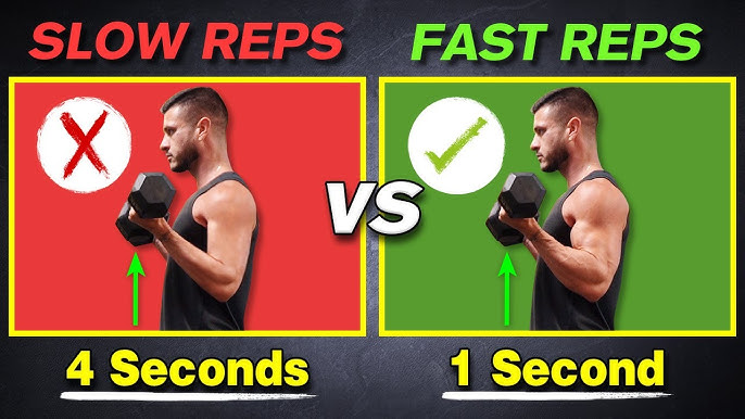 Fast Or Slow Reps For Muscle Growth Lifting Tempo Fundamental Series Ep 6 Youtube