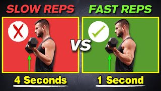 Why Slow Reps Suck for Muscle Growth