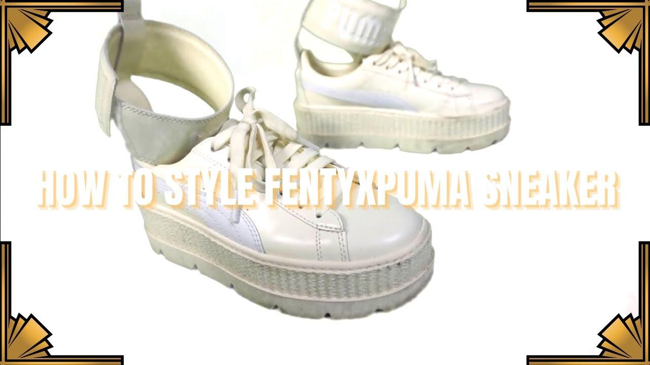 check out 256c2 0f8de Styling Fenty Puma Ankle Strap Sneaker mini LOOKBOOK|#BriasKloset