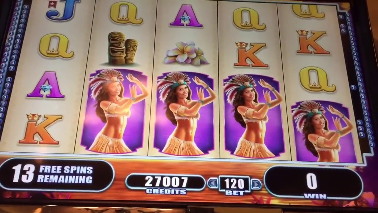 Fire Island Slot Machine