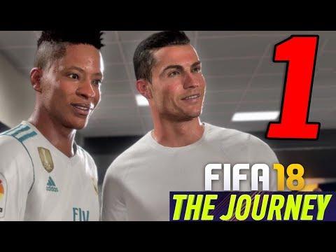FIFA 18 THE JOURNEY: Hunter Returns Walkthrough Gameplay ITA HD - PARTE 1] - CRISTIANO RONALDO