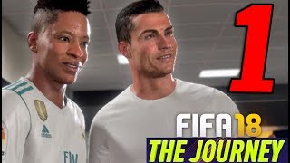 FIFA 18 THE JOURNEY: IL RITORNO DI HUNTER [Walkthrough Gameplay ITA HD - PARTE 1] - RONALDO e WALKER