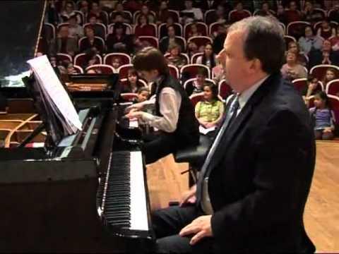 Даниил Харитонов 6 класс Рахманинов - концерт №1 часть 1