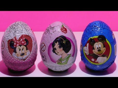 Kinder jaja sa igrackom !!! Miki Maus , Dizni Princeza i Mini Maus