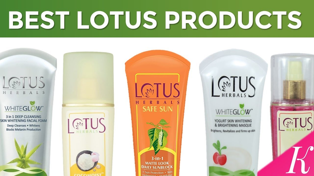 Lotus Cosmetic Products Review