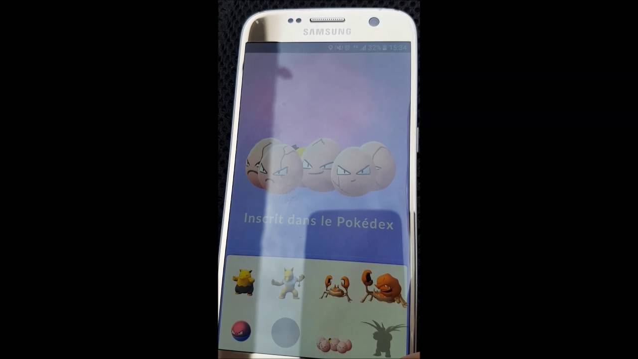 éclosion d'oeufs pokemon GO 5 km + 1 de 10 km - YouTube