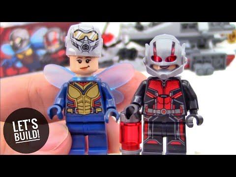 LEGO Ant-Man: Quantum Realm Explorers 76109 - Let's Build!