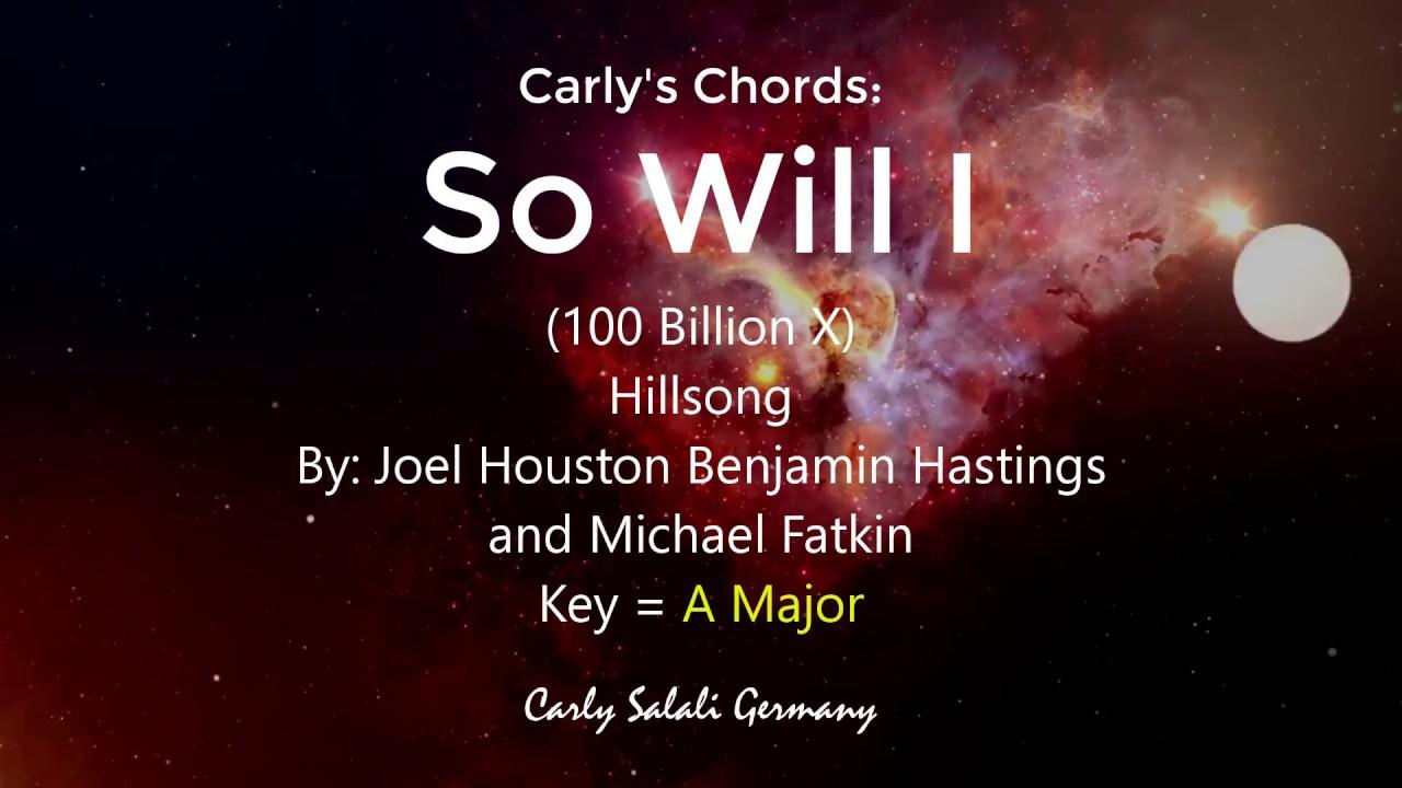 So will i chords
