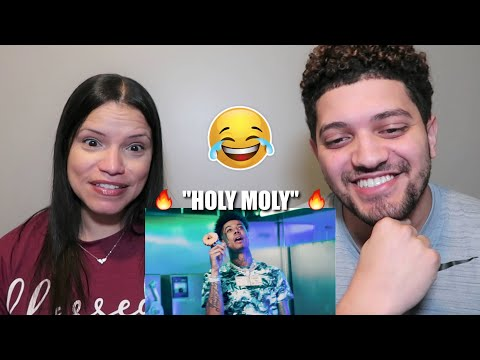 """MOM REACTS TO BLUEFACE & NLE CHOPPA! """"HOLY MOLY"""" (Official Music Video) Reaction!"""