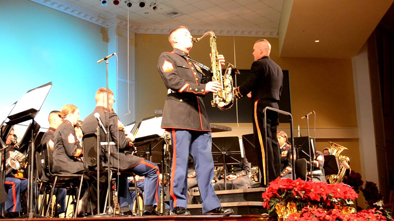 Parris Island Sc Marine Band Dec Concert Community Church