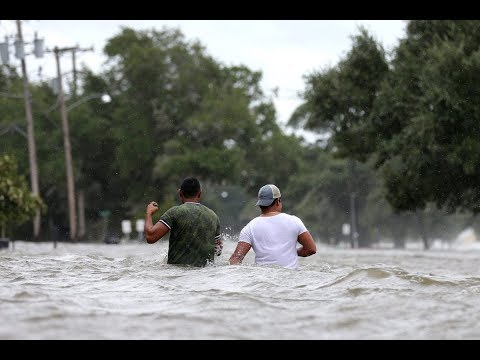 Barry makes landfall