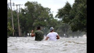 Barry makes landfall as Gulf Coast residents take shelter