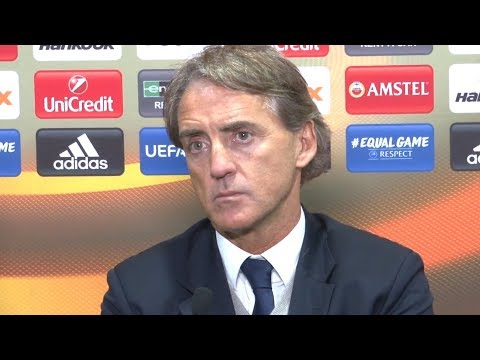 Celtic 10 Zenit St Petersburg  Roberto Mancini Full Post Match Press Conference  Europa League
