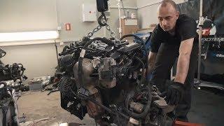 #CADDYLATOR  Снимаем двигатель
