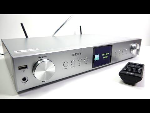 REVIEW: Majority HiFi Tuner (FM/DAB/Internet Radio) & Network Music Streamer. Cheap at 1/2 the price