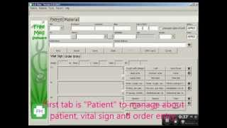 FreeMed New patient registration 1.0.13011 - Software Free for Clinic