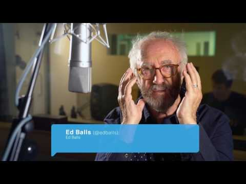 Jonathan Pryce performs 'Tweets That Sound Better Out Loud'