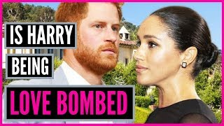 Is PRINCE HARRY being Love Bombed By MEGHAN MARKLE?