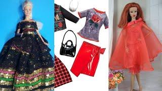 Easy DIY Barbie Clothes ❤️ BARBIE HACKS AND CRAFTS | 2019 &6