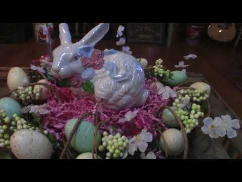 Home Easter Decorations 2018
