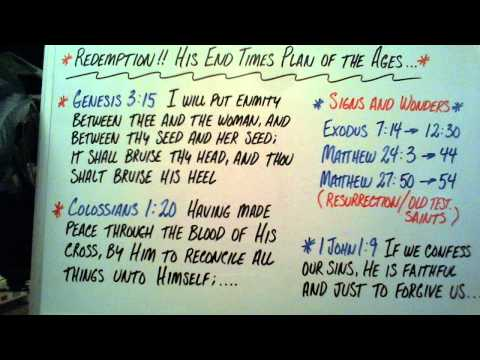Redemption!! His End Times Plan of the Ages