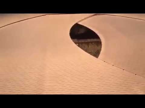 Massive umbrella future project Grand Mosque of Makkah, Saudi Arabia.