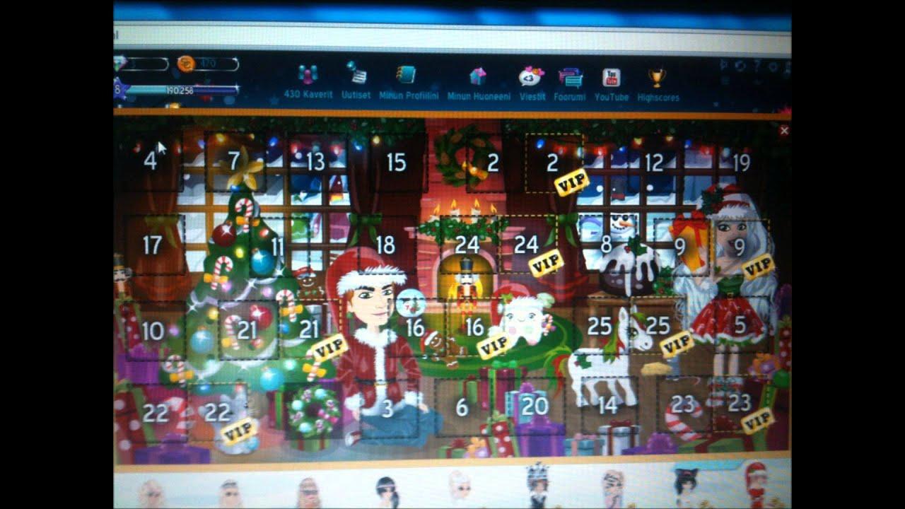 joulukalenteri MSP   Joulukalenteri luukku 1   2012     YouTube joulukalenteri