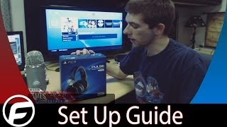 How to Use Sony Pulse Headset with PS4 Set Up Guide