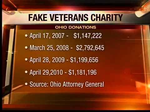 Bogus vets charity update in Ohio