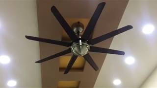 Havells Octet Ceiling 8-Blade Fan with Remote (Brushed Nickel)