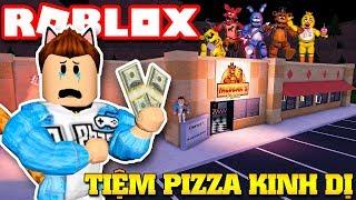Roblox | KIA BUILDS FREDDY's HORROR PIZZA RESTAURANT-Freddy's Tycoon Remastered | KiA Pham