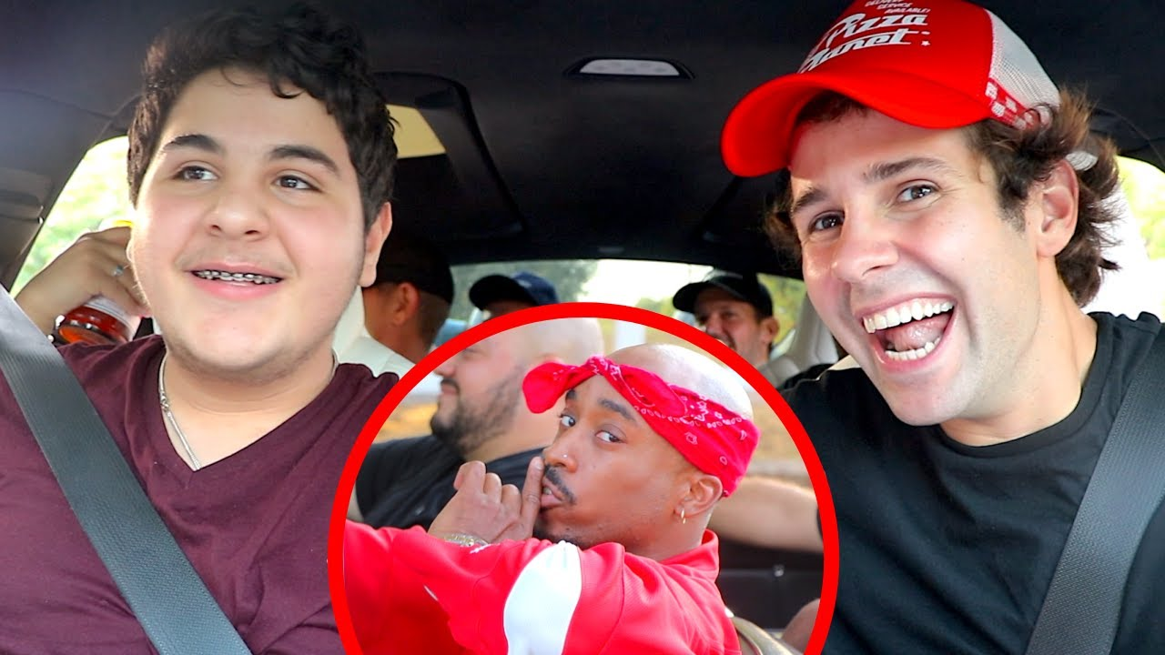SURPRISING LITTLE BROTHER WITH TUPAC!!