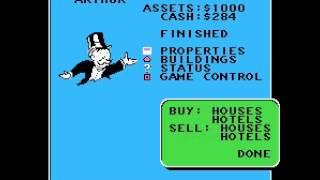 Monopoly - Monopoly (NES / Nintendo) Playthrough - User video