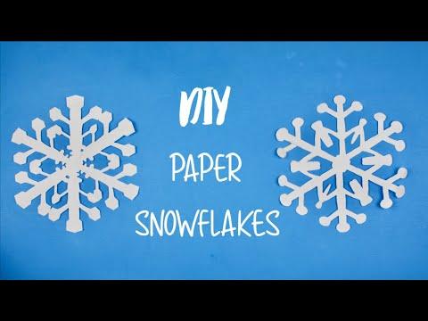DIY Paper Snowflakes!