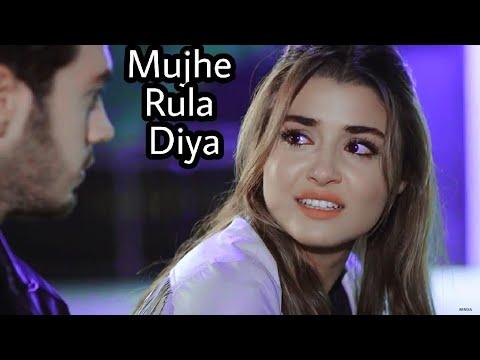 Murat And Hayat New Song   Best Heart Touching   Tujhe Bhula Diya - Mujhe Rula Diya   Remix Version