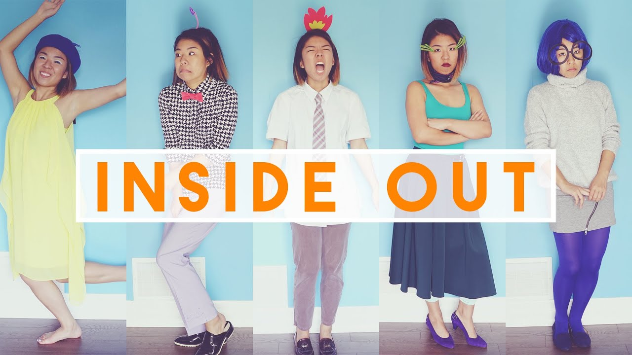 easy inside out diy halloween costumes youtube solutioingenieria Choice Image