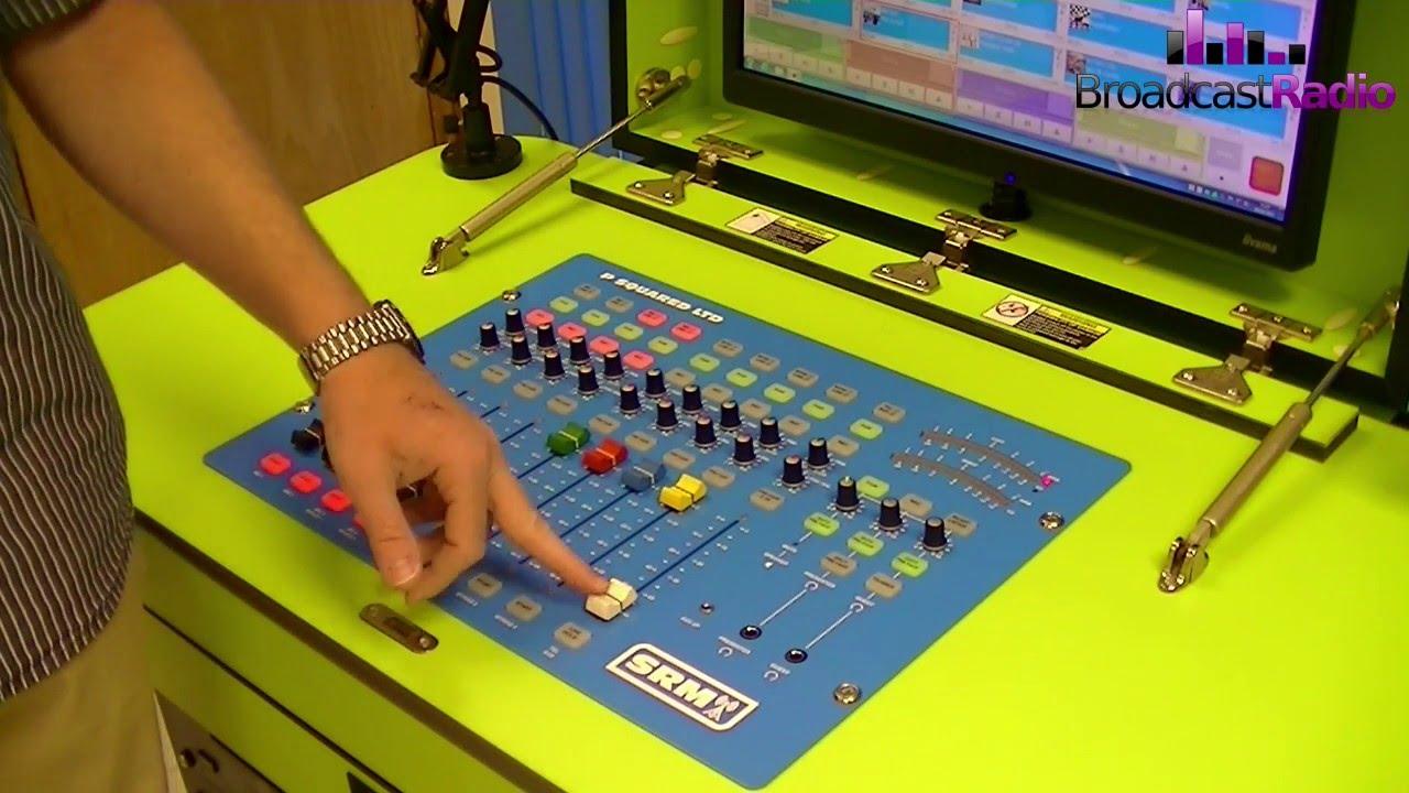 SRM Broadcast Mixer Instruction Video (Part 1)