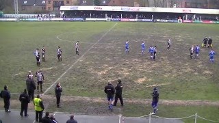 Non-League handbags as players fight at Marston Road | Stafford vs Frickley