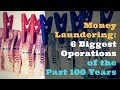 6 Biggest Money Laundering Examples of the Past 100 Years