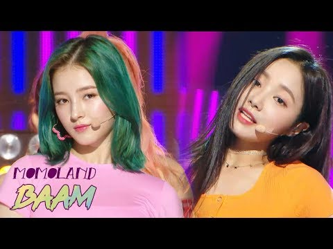 [Comeback Stage] MOMOLAND - BAAM, 모모랜드 - BAAM   show  Music core 20180630
