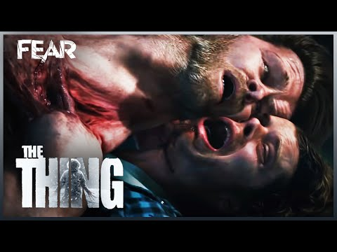 The Thing Begins To Absorb And Multiply | The Thing (2011)