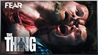 The Thing Begins To Absorb And Multiply | The Thing 2011